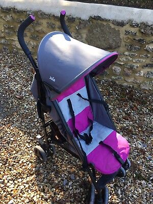 JOIE Pink & Charcoal Nitro Stroller Buggy Pushchair
