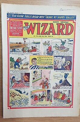 The Wizard Comic No 1712 December 6th 1958