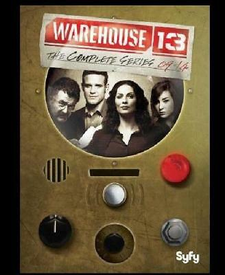 Warehouse 13: The Complete Series (DVD, 2017, 16-Disc Box Set)
