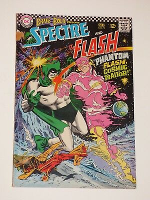 Brave and the Bold #72, 6-7/1967, Very Good+, Spectre and The Flash, DC Comics