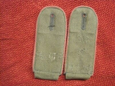 WWII Tropical Panzer Shoulder Boards