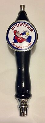 Budweiser Bud Man Beer Tap Handle tapper Kegerator Bar Draft Faucet Knob Sign
