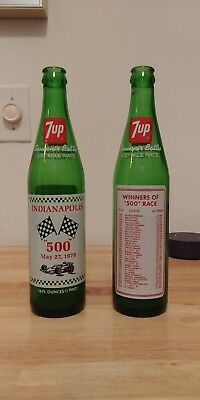 7UP® 16oz. Bottles (2) w/1979 Indianapolis 500 Lineup