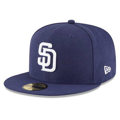 San Diego Padres Licenced 59FIFTY MLB New Era Fitted Cap - size 7 1/4