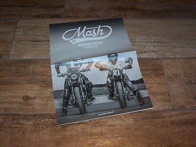 Catalogue / Brochure MASH Gamme motos / Motorcycle full line 2018  /