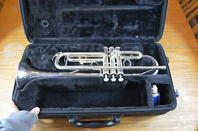 Yamaha Advantage Ytr-300Ad Silver Trumpet Excellent!
