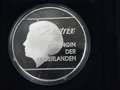 ARUBA 1986 25 Florin Independence Silver Crown Proof