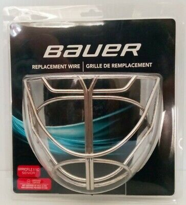 "Bauer ""Profile"" Non-Certified Cat Eye Goalie Cage - Sr"