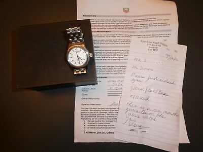 ORIS 7501 Stainless Steel Automatic Mans Watch in GWO Boxed
