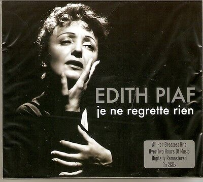 Edith Piaf - Je Ne Regrette Rien - The Best Of / Greatest Hits 2CD NEW/SEALED