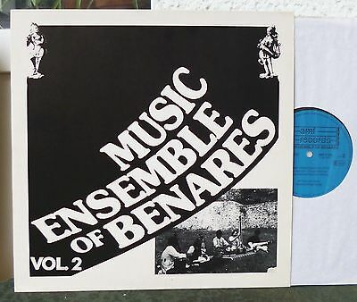 MUSIC ENSEMBLE OF BENARES - Vol. 2    Lp