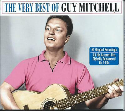Guy Mitchell - The Very Best Of / The Greatest Hits - 50 Original 2CD NEW/SEALED