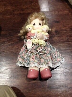 Precious Moments Doll-Susan with Twins