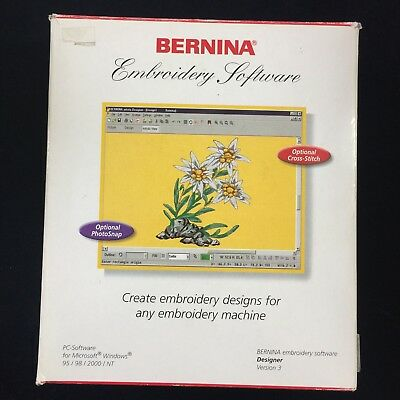 Bernina PC-Embroidery Software Version 3 for Artista Series Includes Dongle