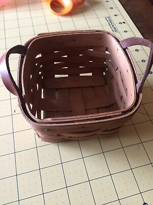 Longaberger Herb Basket 1993