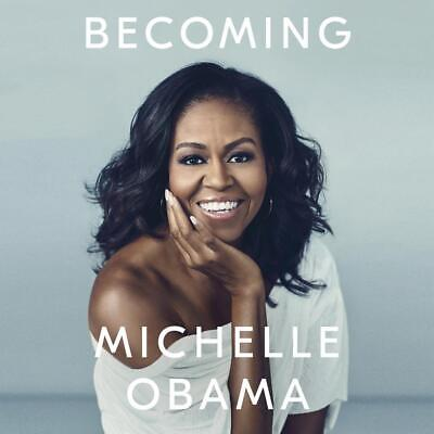 Becoming by Michelle Obama Compact Disc Book Free Shipping!