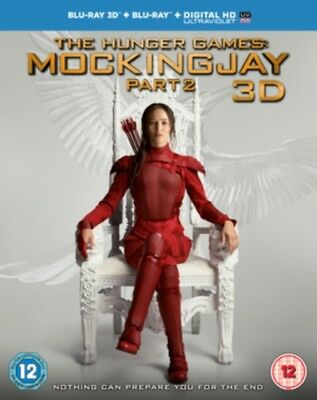 The Hunger Games: Mockingjay Part 2 3D Triple Play BLU RAY *NEW