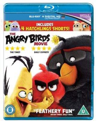 The Angry Birds Movie BLU RAY *NEW & SEALED*
