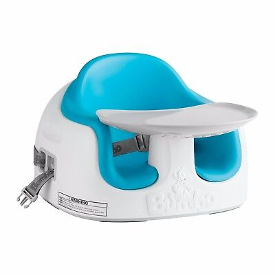 Bumbo Blue Multi-Function Infant Baby seat With Tray