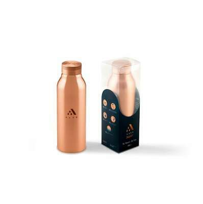 Aayu Seamless Copper Bottles- 500 ml - Promotes mind and Body Health