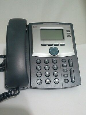 Cisco SPA303-G1 3 Line IP Phone with Display and PC Port w Power Adapter & Base