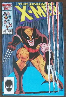 The Uncanny X-Men #207 (Marvel Comics 1986), Wolverine, VF/NM