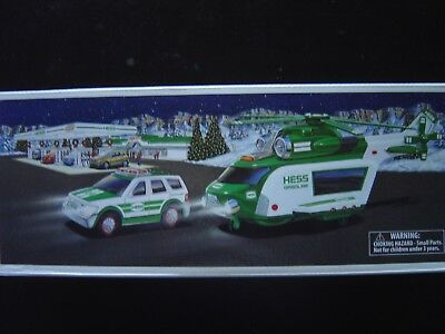 HESS 2012 HELICOPTER and RESCUE- BRAND NEW