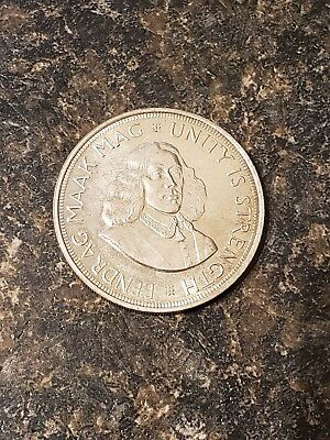 South Africa 1963 50 cents Silver Crown
