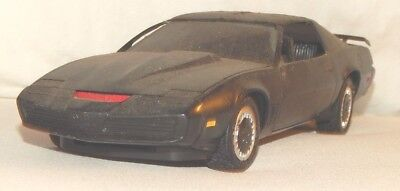 Vintage Pontiac Firebird Black Knight 2000 1/25? Scale Plastic Built Model Car
