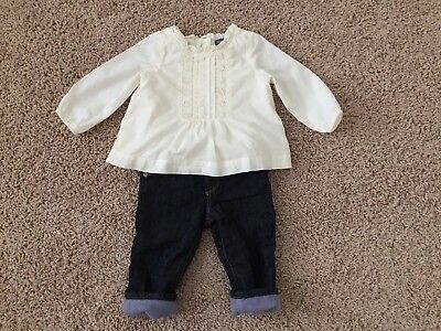 Gap Jeans Size 6-12 Months In Excellent Condition!