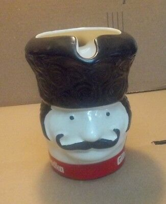 """1970's Gibley's Vodka Pitcher - Promo - Advertising  measures 6 1/2"""" tall"""
