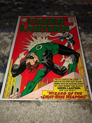 Green Lantern #33 DC (1964) (Vs. Dr. Light) VF