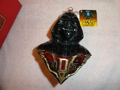 Polonaise Collection Darth Vader Blown Glass Ornament
