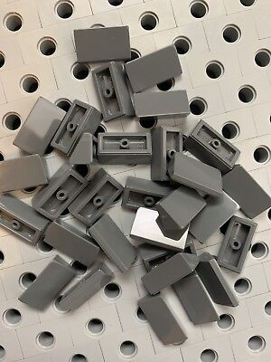 Llego New Lot Of 50 Yellow Slope Roof Tile 1 X 2 X 2//3 Abs Brick With Slope