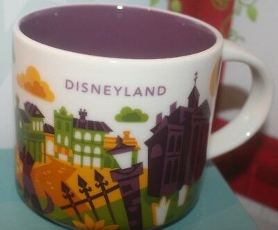 2018 Starbucks You Are Here Disneyland Parks NEW ORLEANS SQUARE Cup Mug w/Box