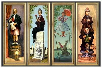 """HAUNTED MANSION STRETCHING ROOM  - DISNEY POSTER  - 18"""" x 12"""""""