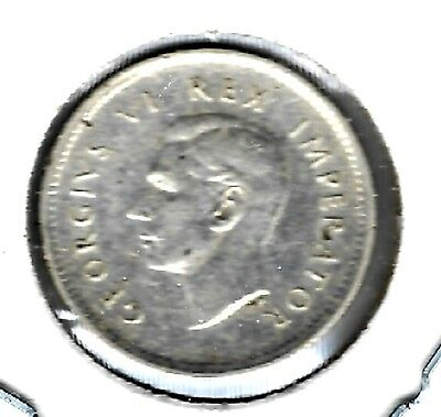 South Africa - Two Shillings, 1940 - Silver