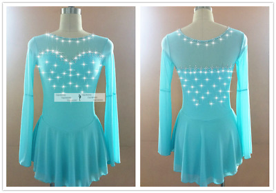 Custom Fashion figure Skating Dresses For Adults or Girls A640