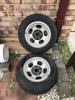 "13"" Jelly Bean Mags x 2, Early Holden Stud Pattern, Torana EH HR Holden"
