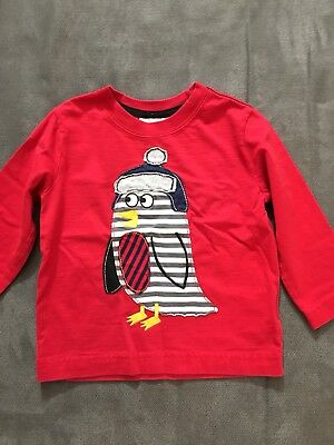 Hanna Anderson Winter Baby Top, 18-24 Mo