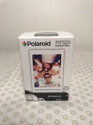 Polaroid PIF300 Instant Film - New 20 Prints