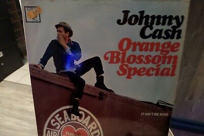 "LP ""Johnny Cash""-Orange Blossom Special,1965 CBS,altes Label,S BPG62501,VG++/VG+"