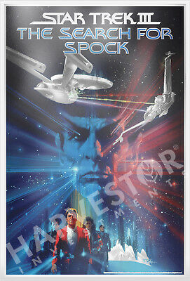 2018 Star Trek: The Search For Spock -  Silver Foil 35 Grams Silver Poster