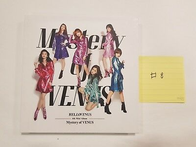 "Hello Venus ""Mystery of Venus"" 6th Mini -  Autographed(Signed) Promo Album"