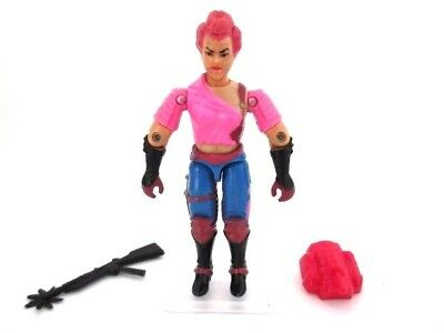 Action Force GI Joe Cobra ☆ ZARANA v1 ☆ Figure Rare Hasbro 100% Complete 1986