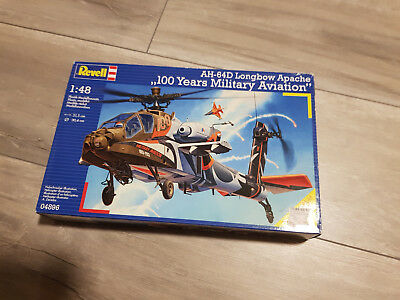 """REVELL® 04896 AH-64D Longbow Apache """"100 Years Military Aviation"""" in 1:48"""