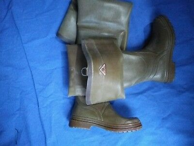 Rubber boots,Wader Goma Botas Caucho Natural Pesca Caza, Marca BLIMEY n 42