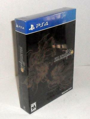 Final Fantasy Type-0 HD Collector Edition New Sealed PlayStation 4 PS4 WITH CODE