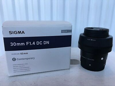 Sigma 30mm f1.4 DC DN for sony - e-mount cameras
