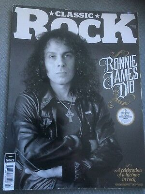 Ronnie James Dio, Classic Rock Mag, Issue 147 Summer 2010